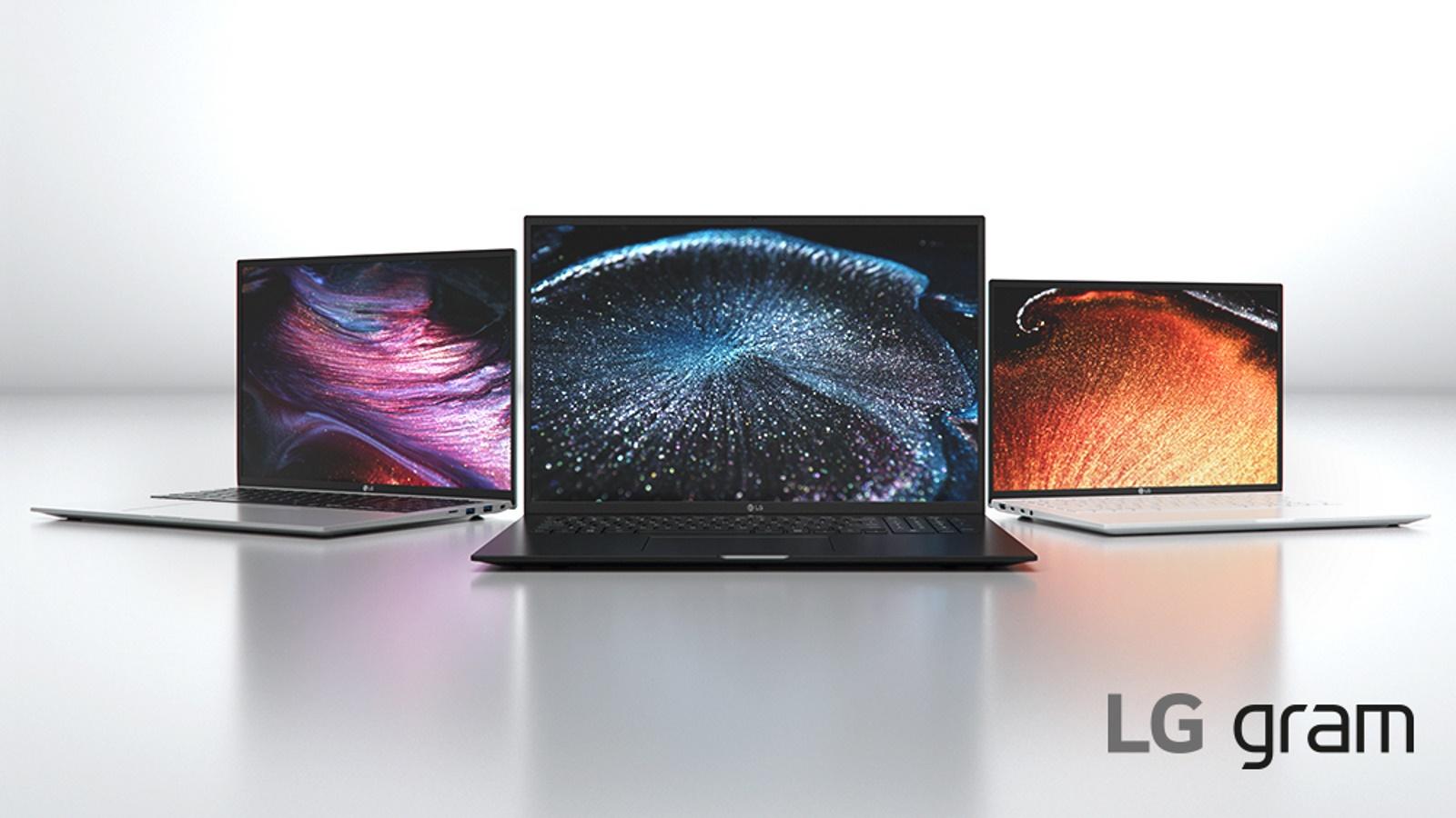 LG Gram at CES 2021