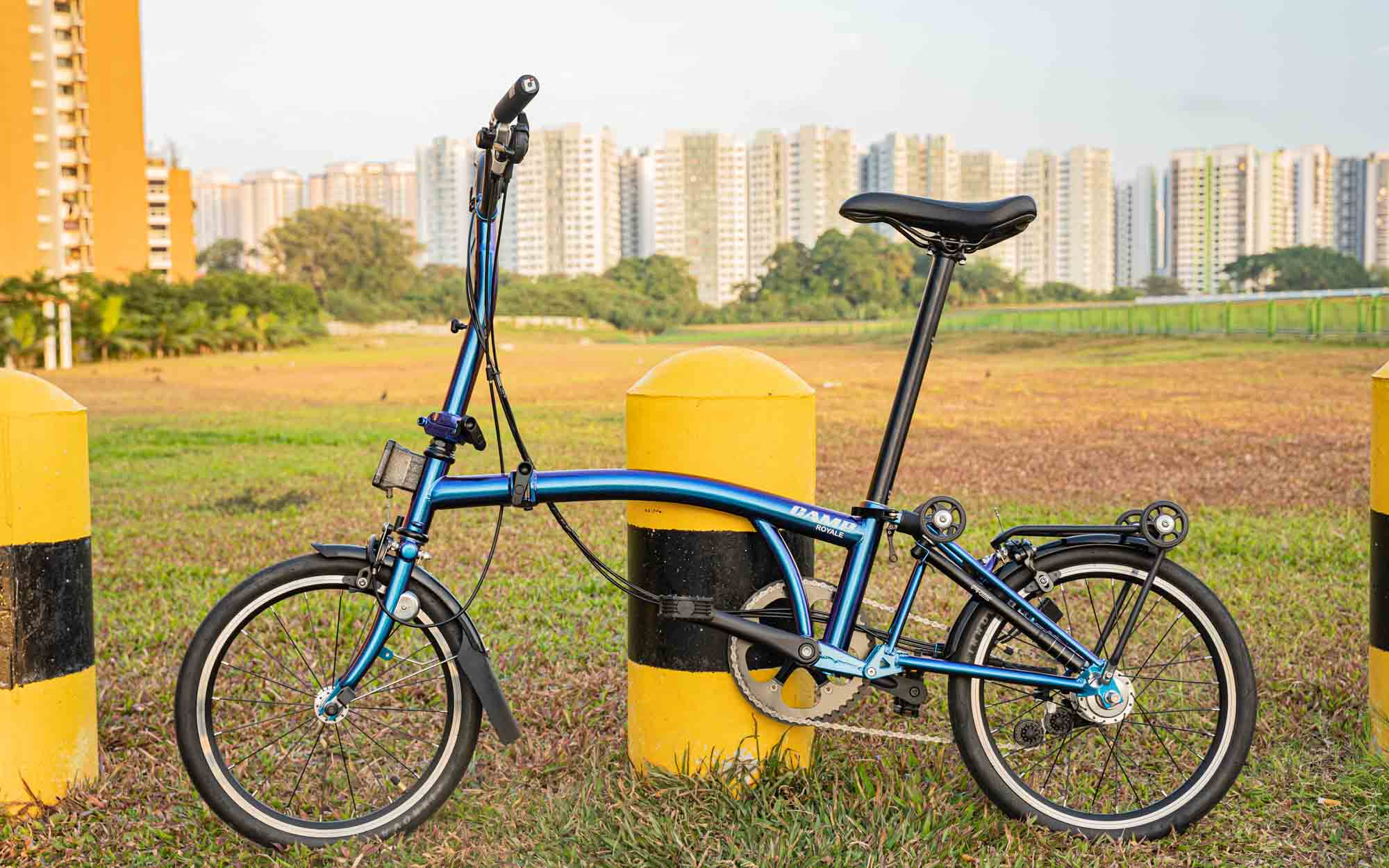 Camp Royale Folding Bike